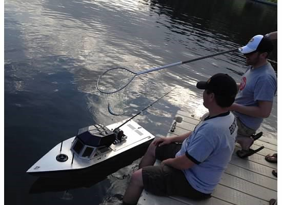 RC Fishing Machine in Action
