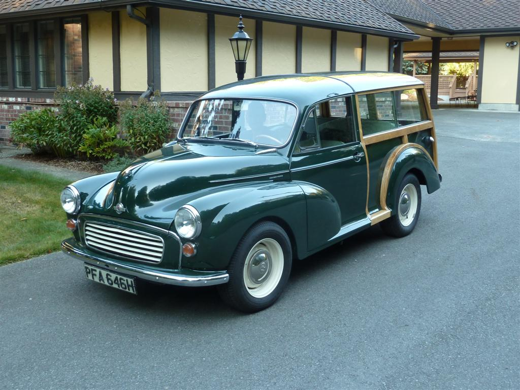 Morris minor traveller for sale - Green Morris