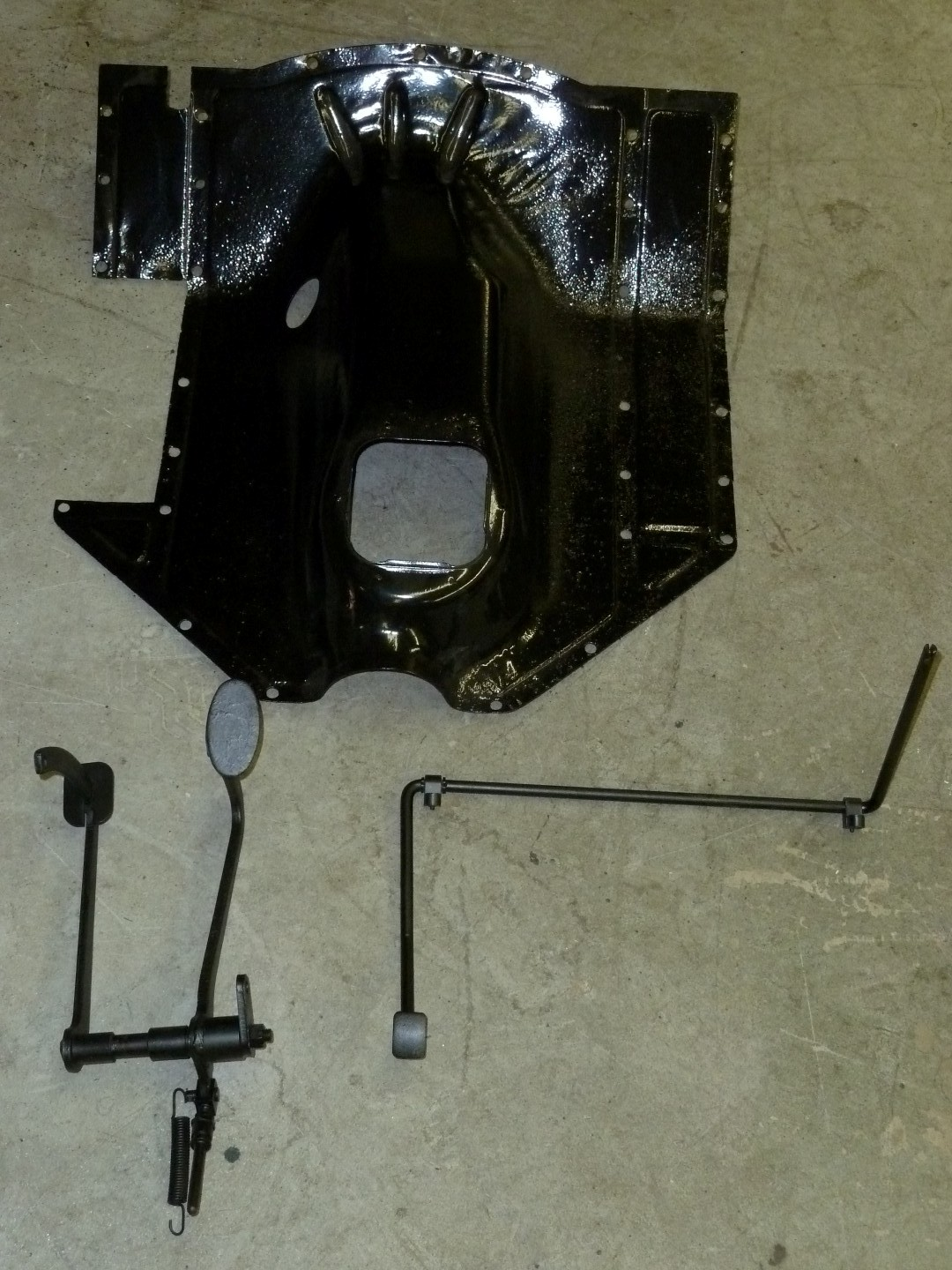 Parts for LHD